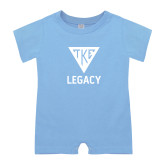 Light Blue Infant Romper-Legacy