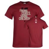 Cardinal T Shirt-St Jude Finding Cures Saving Children
