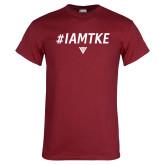 Cardinal T Shirt-#IAMTKE w/ Houseplate