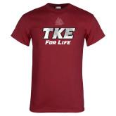 Cardinal T Shirt-TKE 4 Life