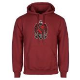 Cardinal Fleece Hood-Coat of Arms