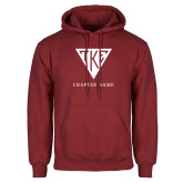 Cardinal Fleece Hoodie-Houseplate - Chapter Name