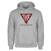 Grey Fleece Hoodie-Houseplate - Chapter Name