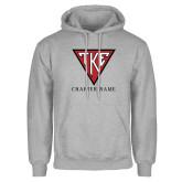 Grey Fleece Hood-Houseplate - Chapter Name