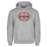Grey Fleece Hood-Bid Day - Chapter Name
