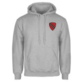 Grey Fleece Hoodie-Order of the Shield