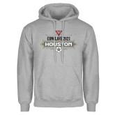 Grey Fleece Hoodie-Conclave 2021