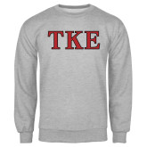 Grey Fleece Crew-TKE