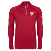 Under Armour Cardinal Tech 1/4 Zip Performance Shirt-Houseplate