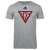 Adidas Sport Grey Logo T Shirt-Houseplate