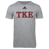 Adidas Sport Grey Logo T Shirt-TKE