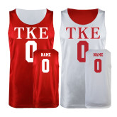 Cardinal/White Reversible Tank-Personalized