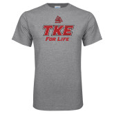 Grey T Shirt-TKE 4 Life