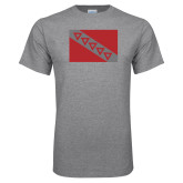 Grey T Shirt-Flag
