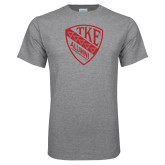 Grey T Shirt-Alumni Shield
