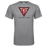 Grey T Shirt-Houseplate - Chapter Name