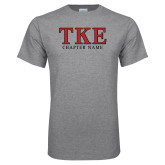 Sport Grey T Shirt-TKE Chapter Name