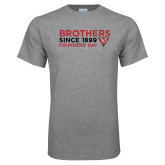Grey T Shirt-Brothers Since 1899
