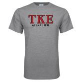 Grey T Shirt-TKE Alumni Year