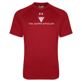 Under Armour Cardinal Tech Tee-House Plate Tau Kappa Epsilon