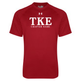 Under Armour Cardinal Tech Tee-TKE Chapter Name