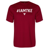 Syntrel Performance Cardinal Tee-#IAMTKE w/ Houseplate