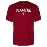 Performance Cardinal Tee-#IAMTKE w/ Houseplate