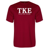 Syntrel Performance Cardinal Tee-TKE Chapter Name