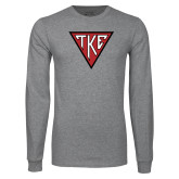 Grey Long Sleeve T Shirt-Houseplate