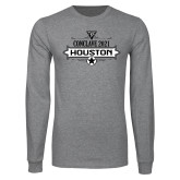 Grey Long Sleeve T Shirt-Conclave 2021
