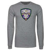 Grey Long Sleeve T Shirt-Conclave 2015