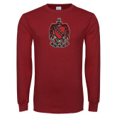 Cardinal Long Sleeve T Shirt-Coat of Arms