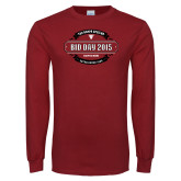Cardinal Long Sleeve T Shirt-Bid Day - Chapter Name