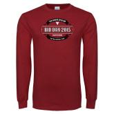 Cardinal Long Sleeve T Shirt-Bid Day - Chapter Name
