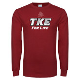 Cardinal Long Sleeve T Shirt-TKE 4 Life