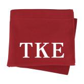 Cardinal Sweatshirt Blanket-TKE