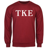 Cardinal Fleece Crew-TKE
