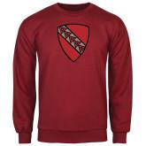 Cardinal Fleece Crew-Order of the Shield
