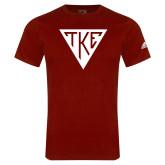 Adidas Cardinal Logo T Shirt-Houseplate
