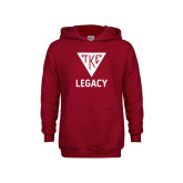 Youth Cardinal Fleece Hoodie-Legacy