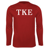 Syntrel Performance Cardinal Longsleeve Shirt-TKE