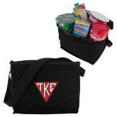 Koozie Six Pack Black Cooler-Houseplate