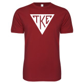 Next Level SoftStyle Cardinal T Shirt-Houseplate