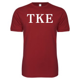 Next Level SoftStyle Cardinal T Shirt-TKE