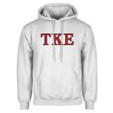 White Fleece Hood-TKE