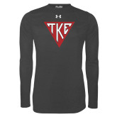 Under Armour Carbon Heather Long Sleeve Tech Tee-Houseplate