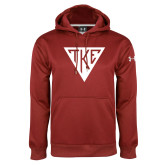 Under Armour Cardinal Performance Sweats Team Hoodie-Houseplate
