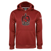 Under Armour Cardinal Performance Sweats Team Hoodie-Coat of Arms
