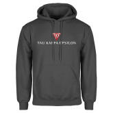 Charcoal Fleece Hoodie-House Plate Tau Kappa Epsilon