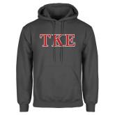 Charcoal Fleece Hoodie-TKE